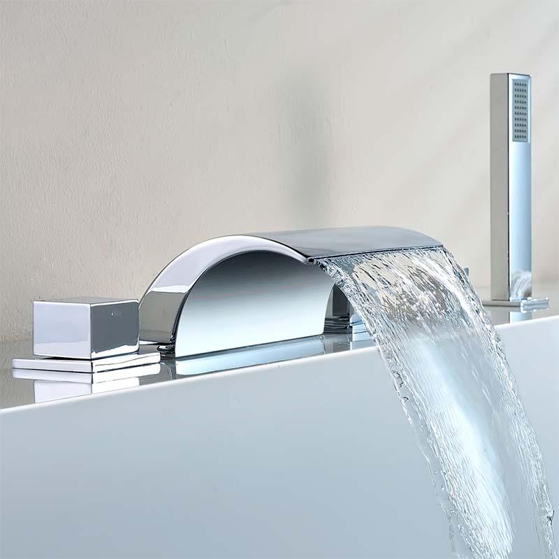 Экономичный смеситель для ванны с душем