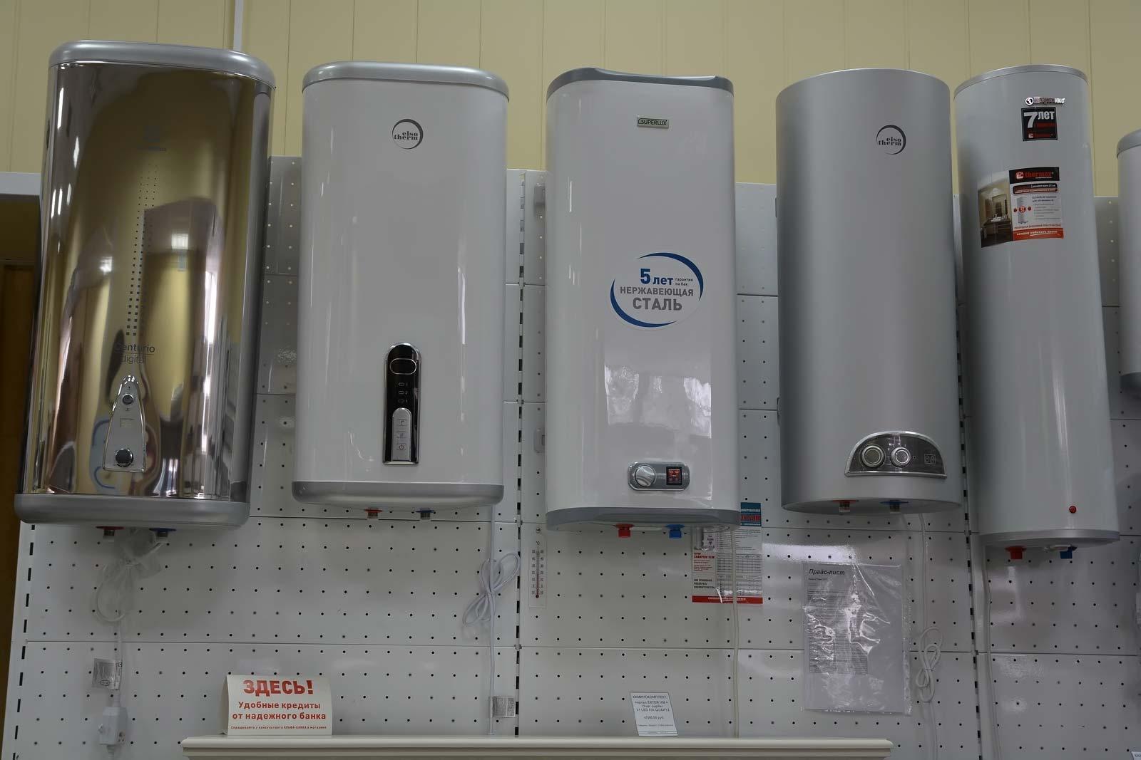 Электрические водонагреватели для дачи