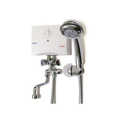 Газовый водонагреватель с душем