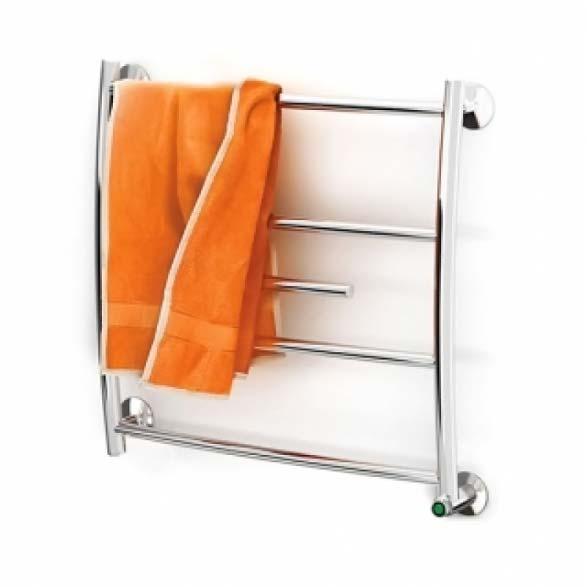 Электрический полотенцесушитель с полотенцем