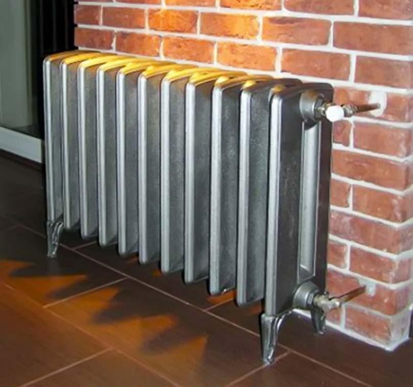 Импортный радиатор отопления из чугуна