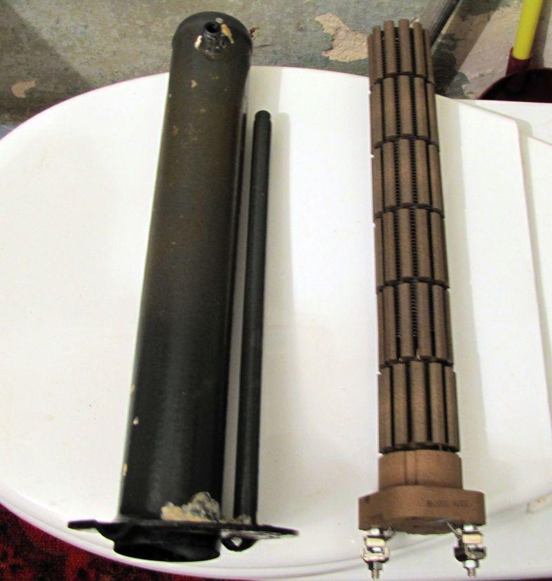 Строение водонагревателя с сухим тэном устройство