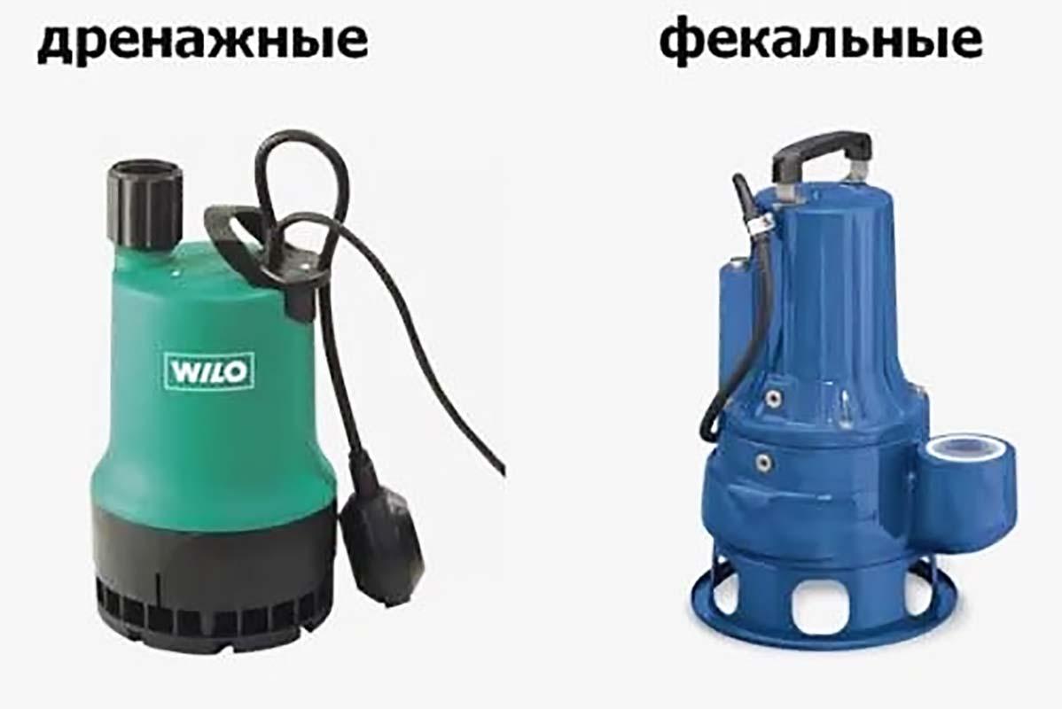 Как выбрать насос для откачки канализации  изучаем