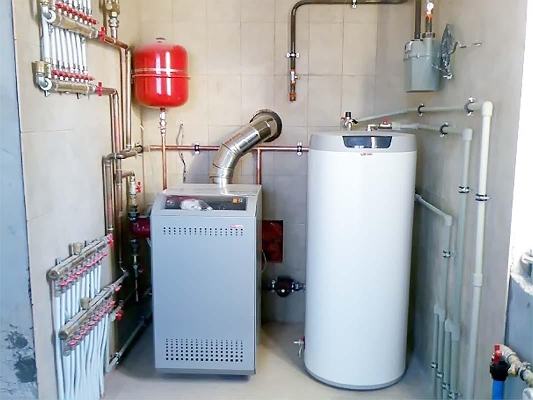 Газовый котел установленный по техническим требованиям
