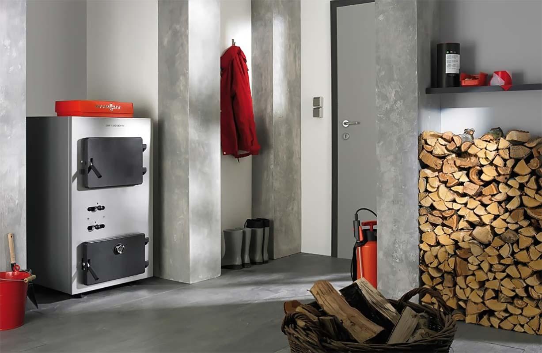 Хранение топлива для отопительного котла на дровах