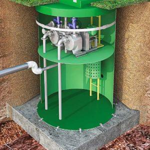 Выбор канализационной насосной станции
