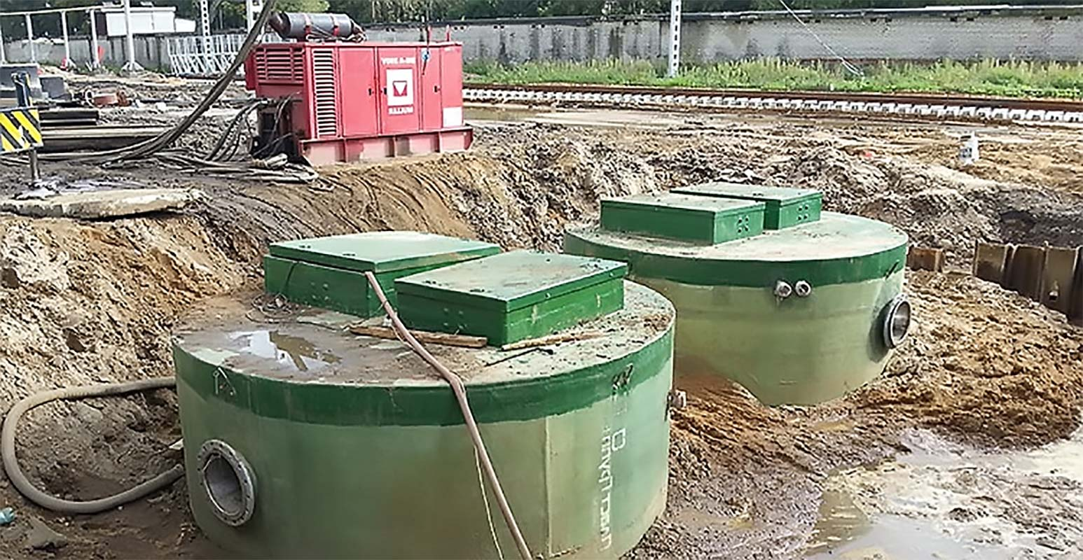 Установленные канализационные насосные станции