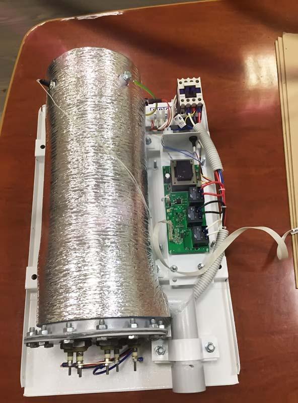 Как работает отопительный котел электрический