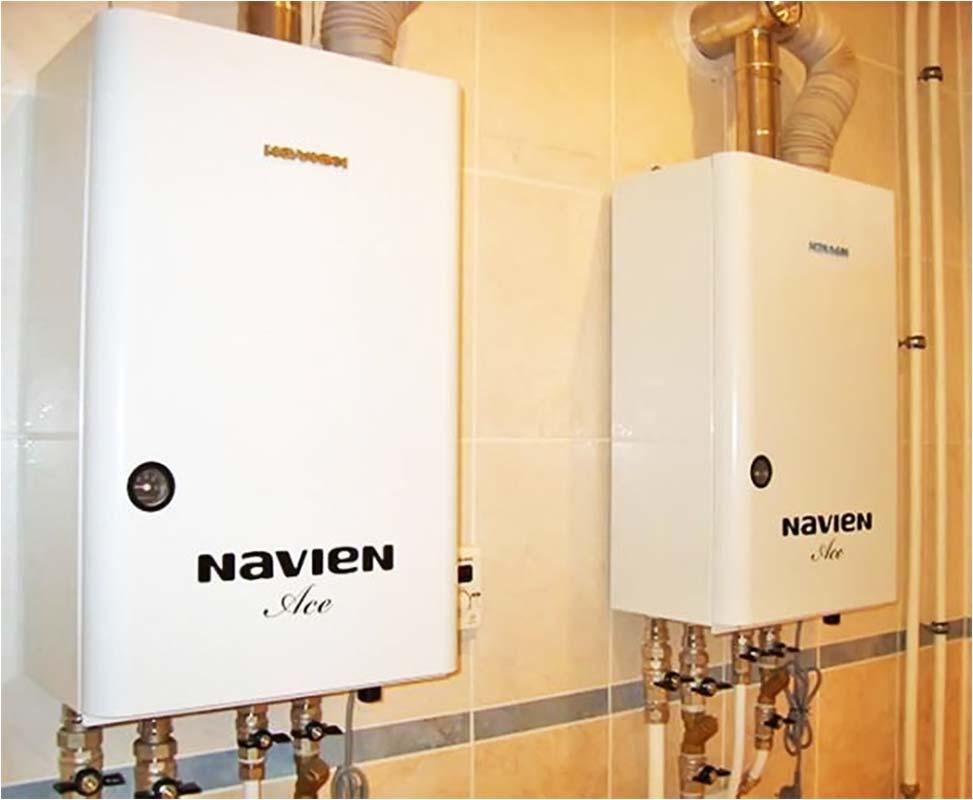 Газовые отопительные котлы navien