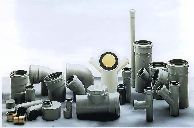 Отводы для канализации различных размеров