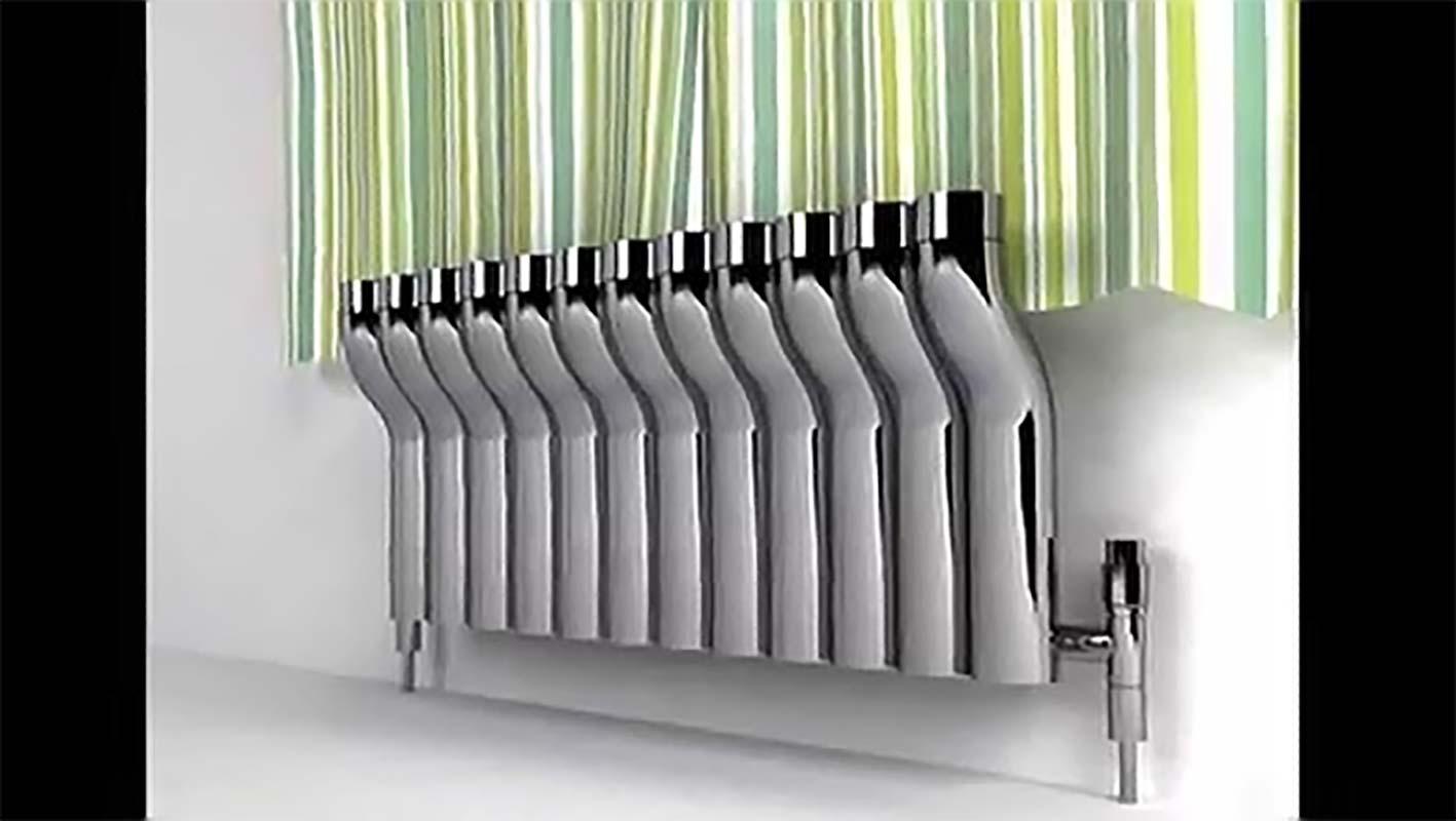 Глянцевый материал радиатора отопления
