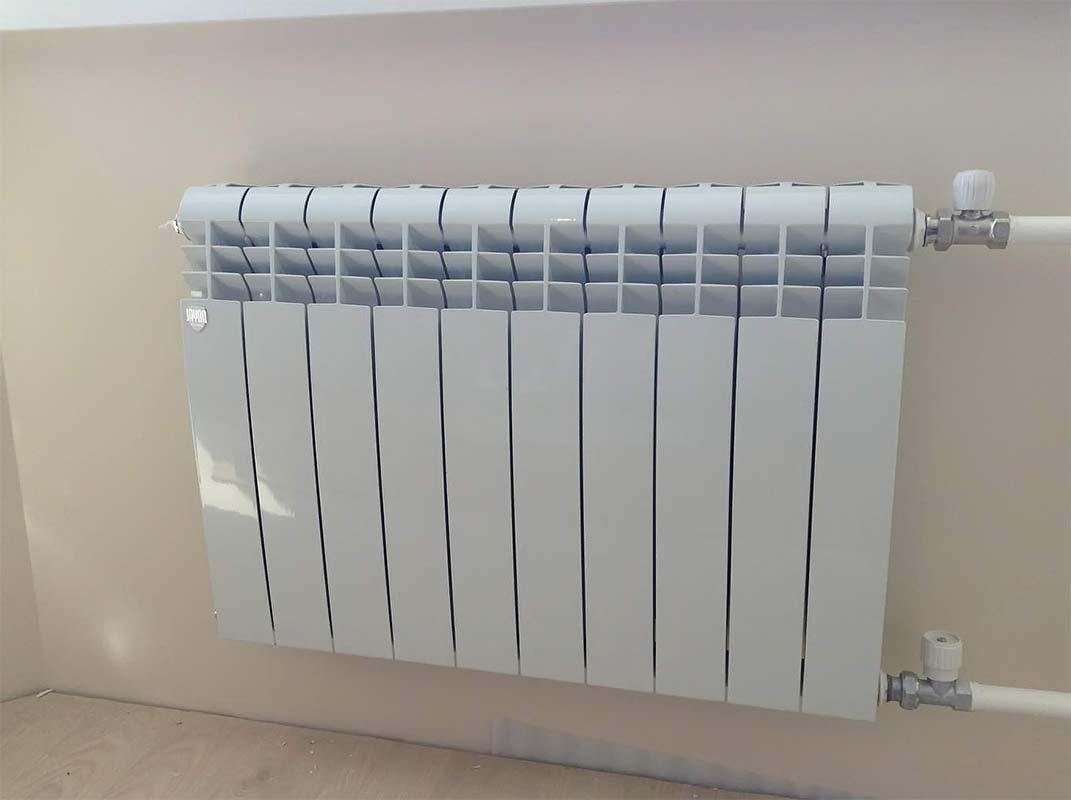 Монтированный алюминиевый радиатор