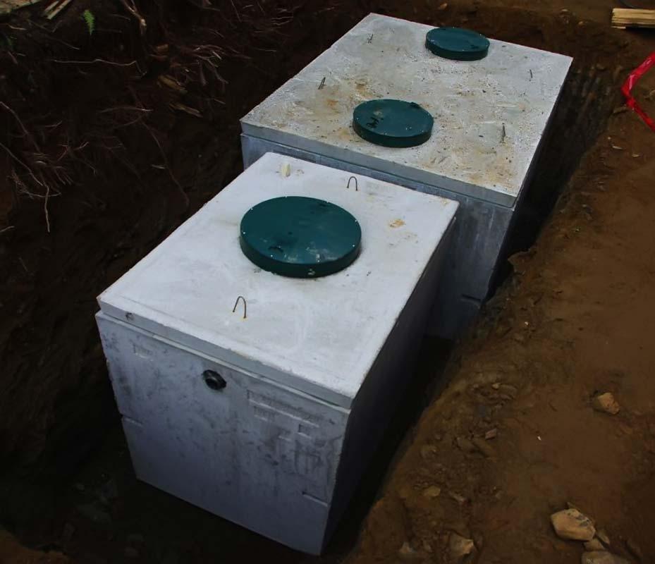 Септик для дома бетонный