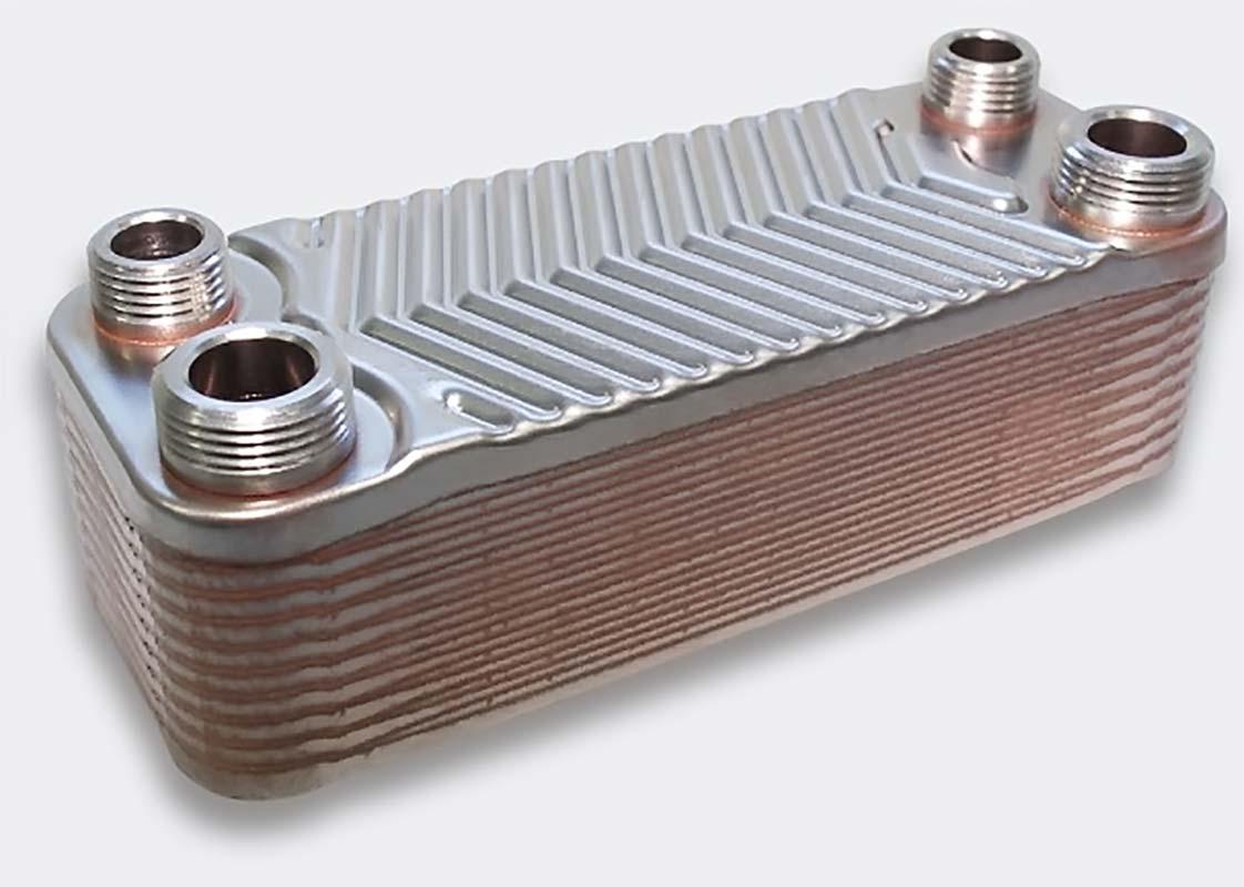 Теплообменник газового котла из металла