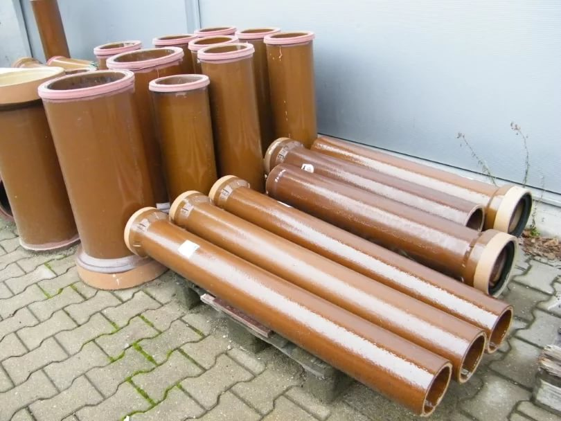Трубы внутренней канализации керамические