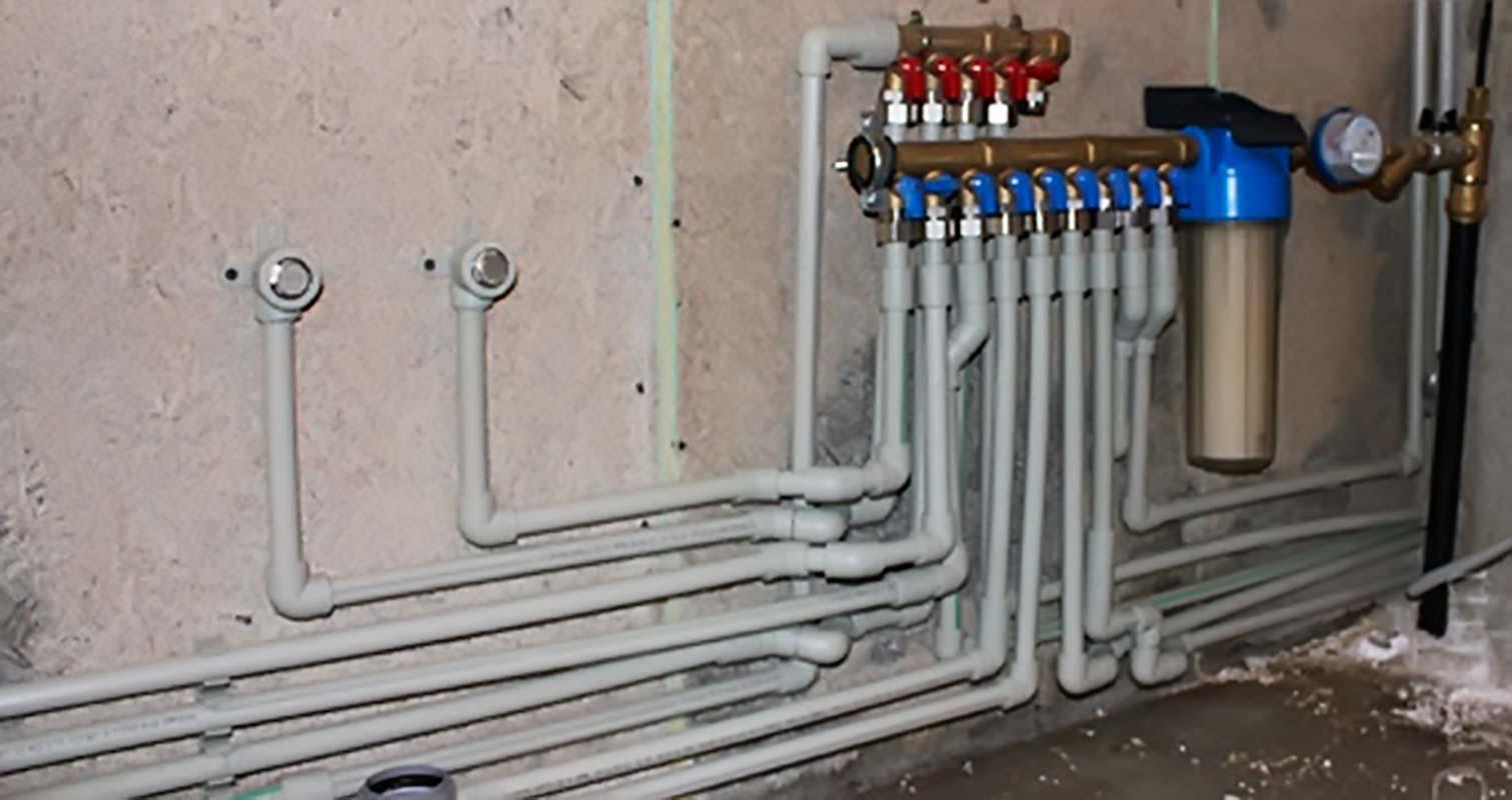 Разводка труб водоснабжения частного дома своими руками