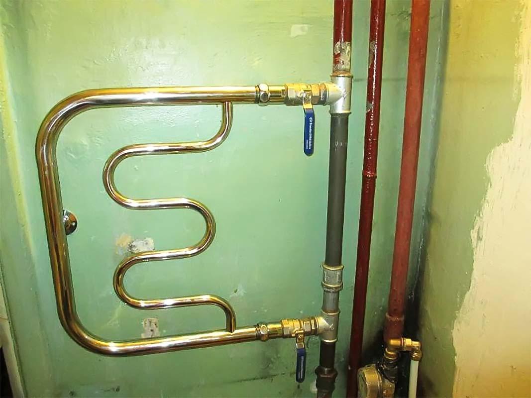 Полотенцесушитель ремонт вентилей