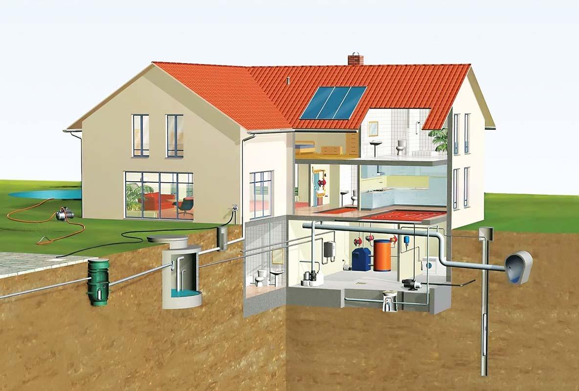 Как сделать проект канализации в своем доме