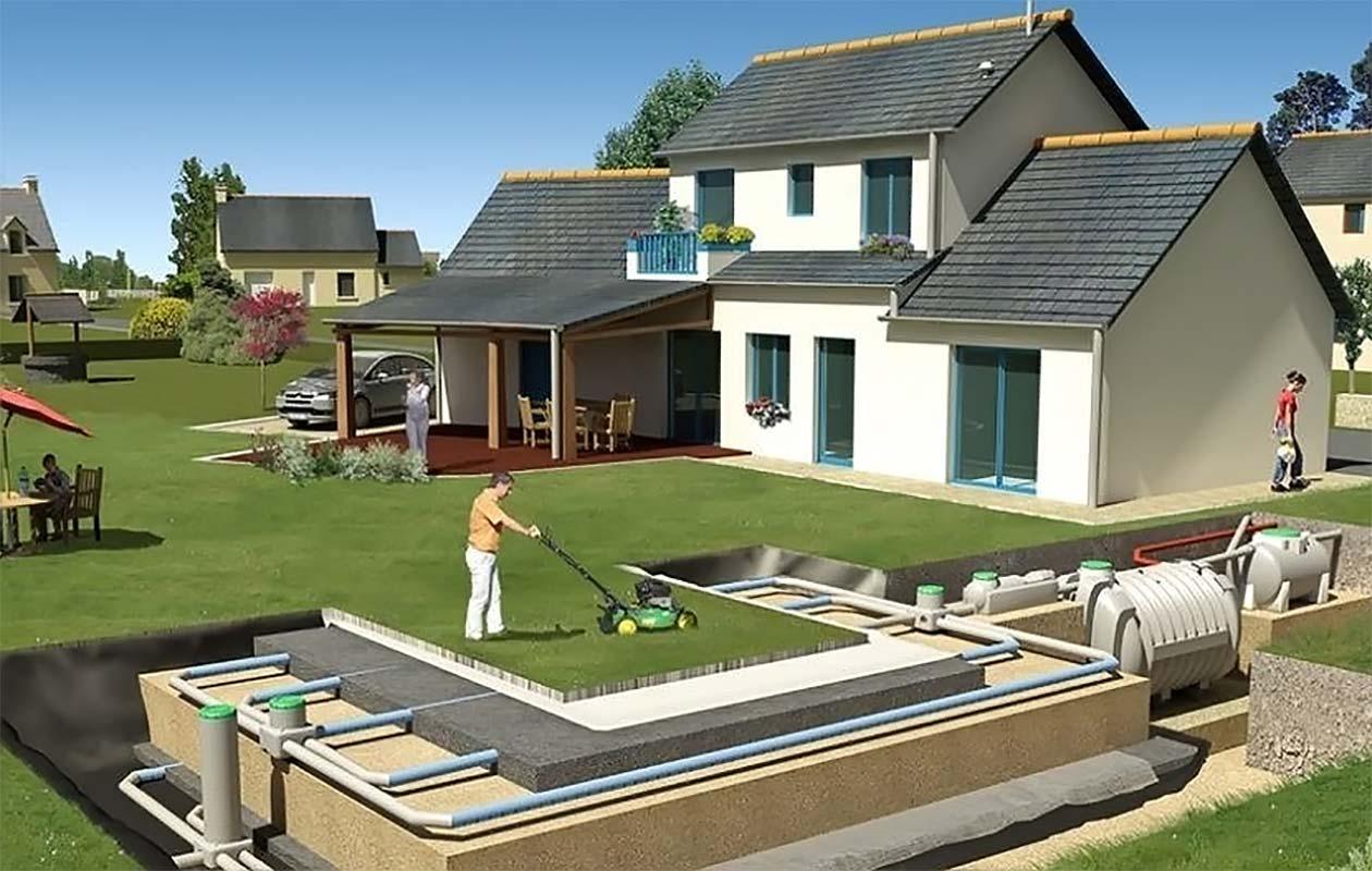 Проектирование канализации дома