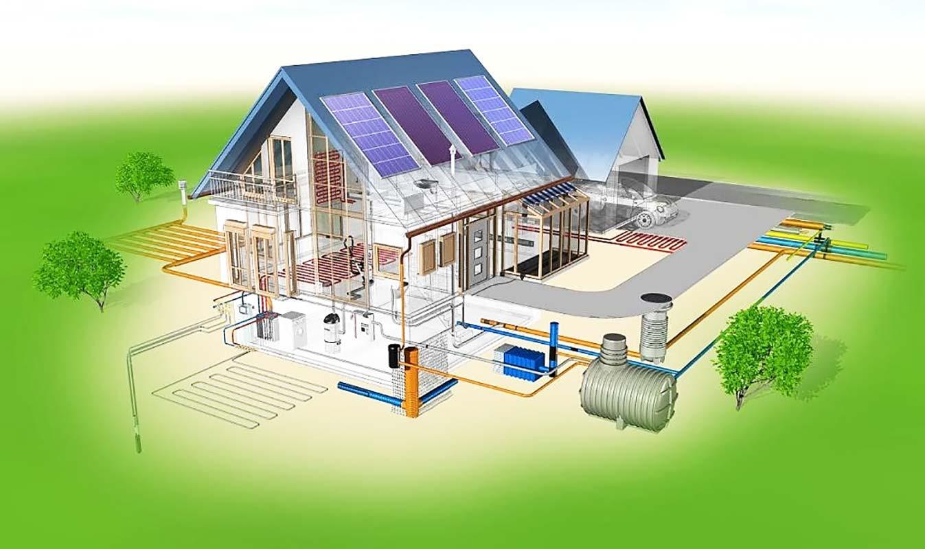 Проектирование отопления и принцип работы