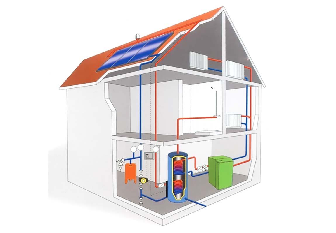 Проектирование системы горячего водоснабжения