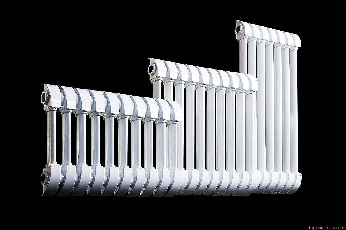 Радиаторы биметаллические три штуки