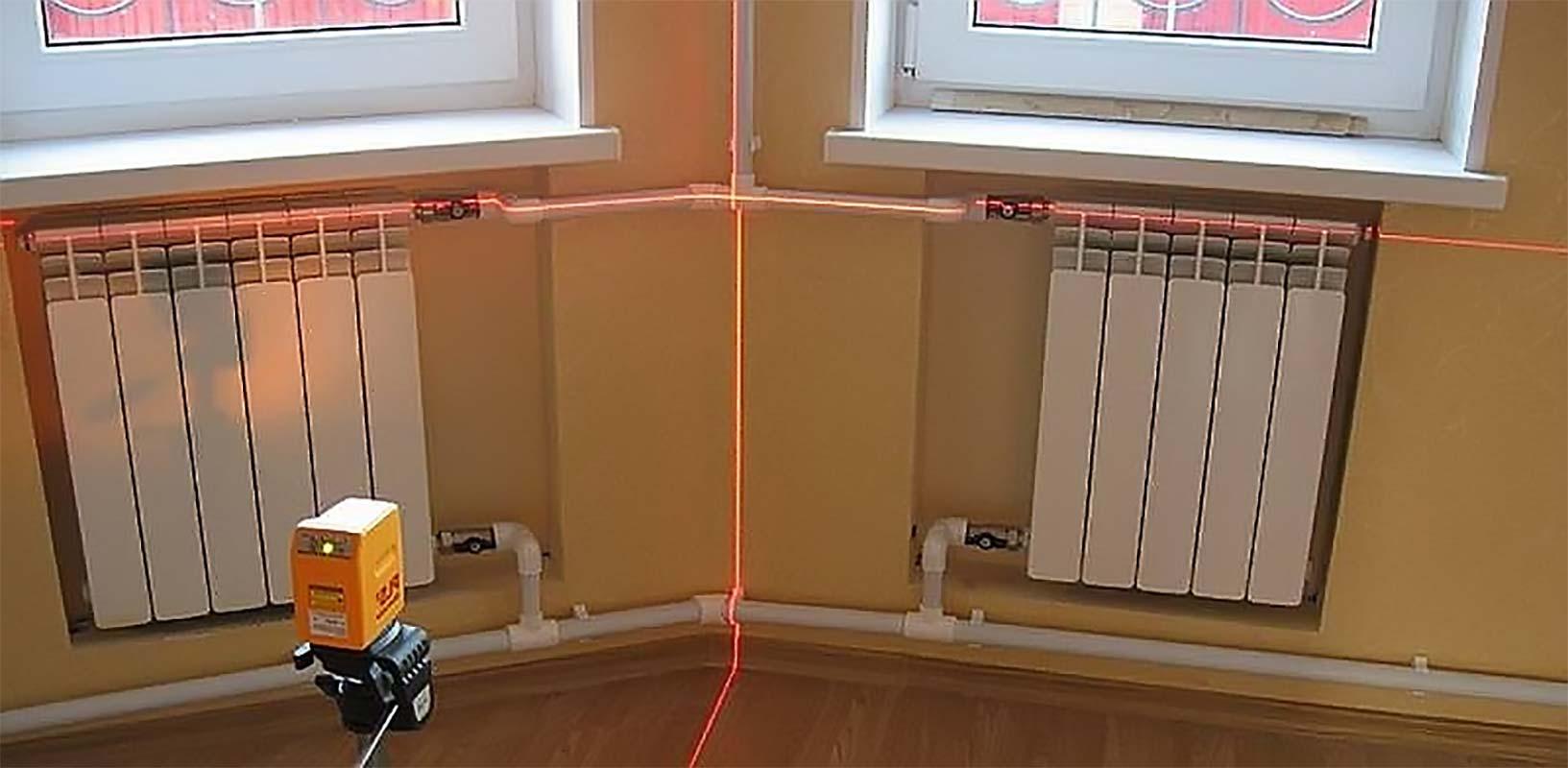 радиаторы и разметка лазером