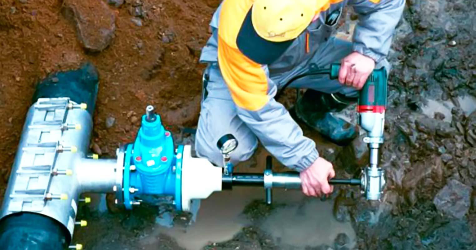 Как сделать врезку в водопровод