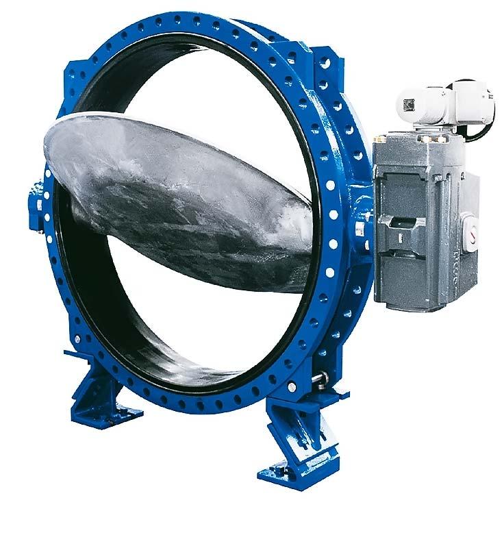 Размеры и характеристики поворотных дисковых затворов