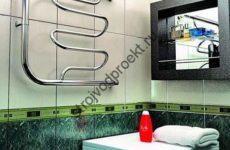 Выбор бокового полотенцесушителя
