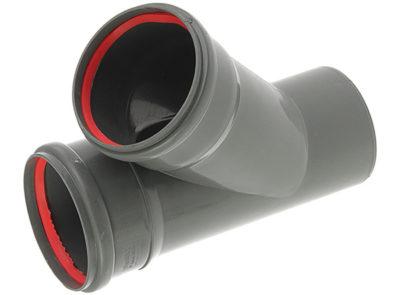 Фитинги канализации: тройники, крестовины, муфты, переходники, воздушные клапаны